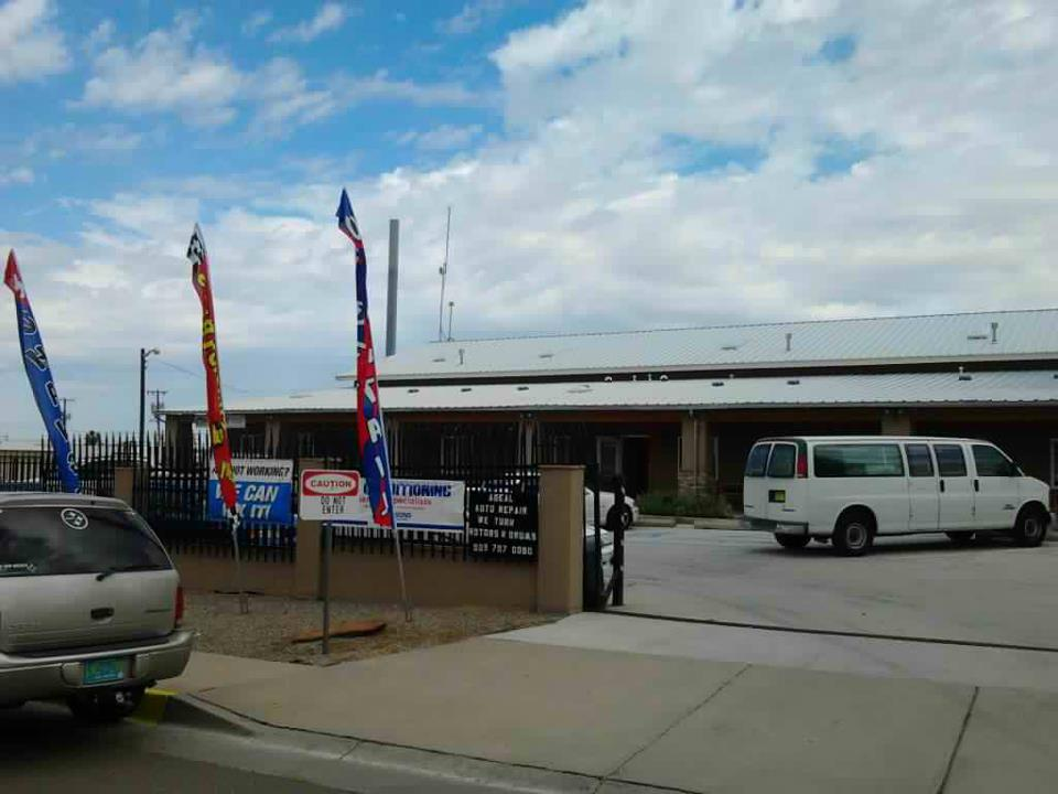 Adeal Auto Storefront View, Front of office